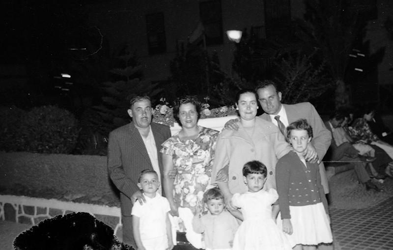 Familia Reyes y Barreto en San Ginés