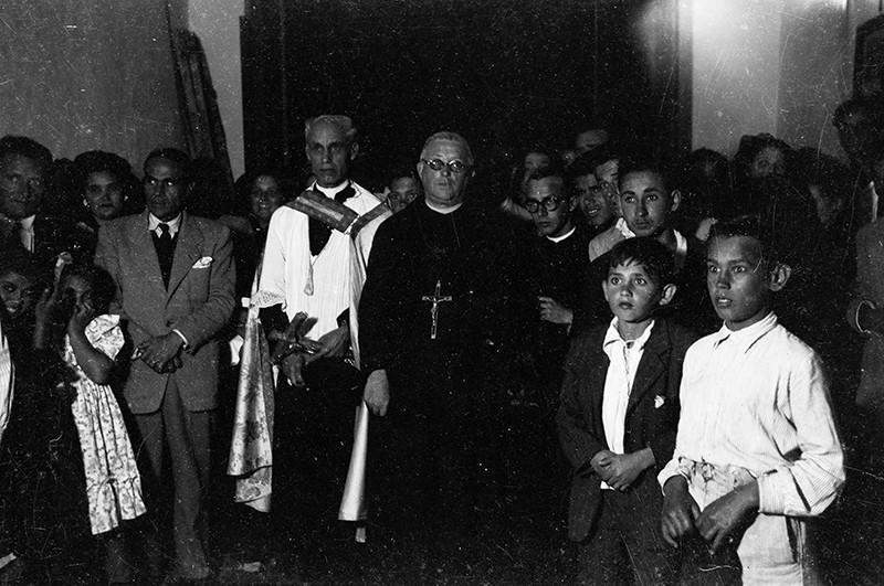 Recibimiento de la imagen del Padre Claret I