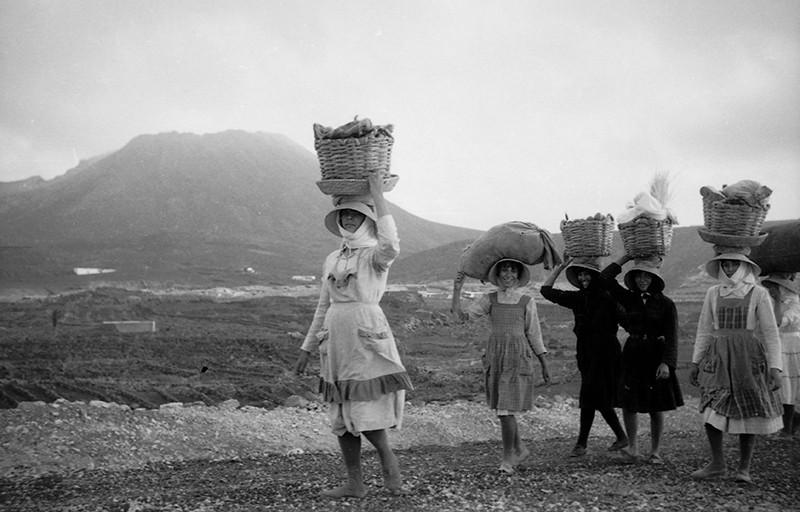 Vendedoras de pescado de La Graciosa II