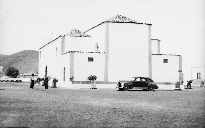 Iglesia de los Remedios en Yaiza