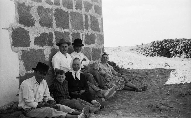 Familiares de Javier Reyes en El Golfo I