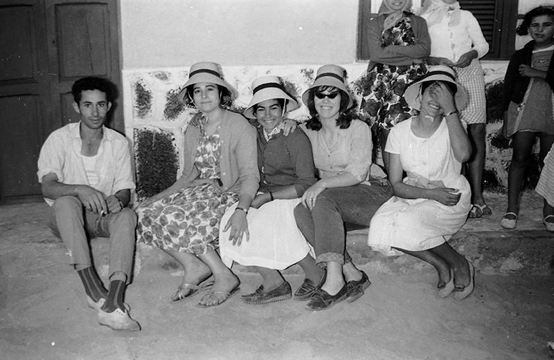 Grupo de chicas en La Graciosa