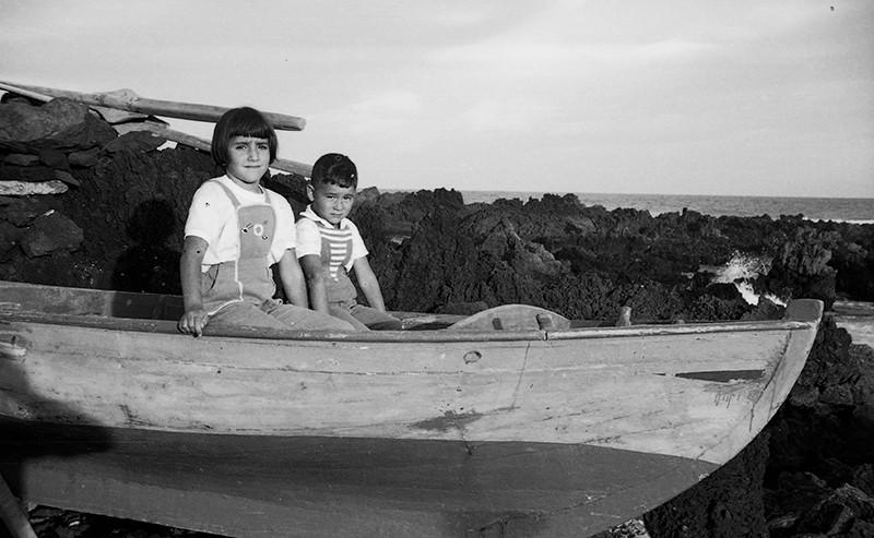 Niños en Alegranza