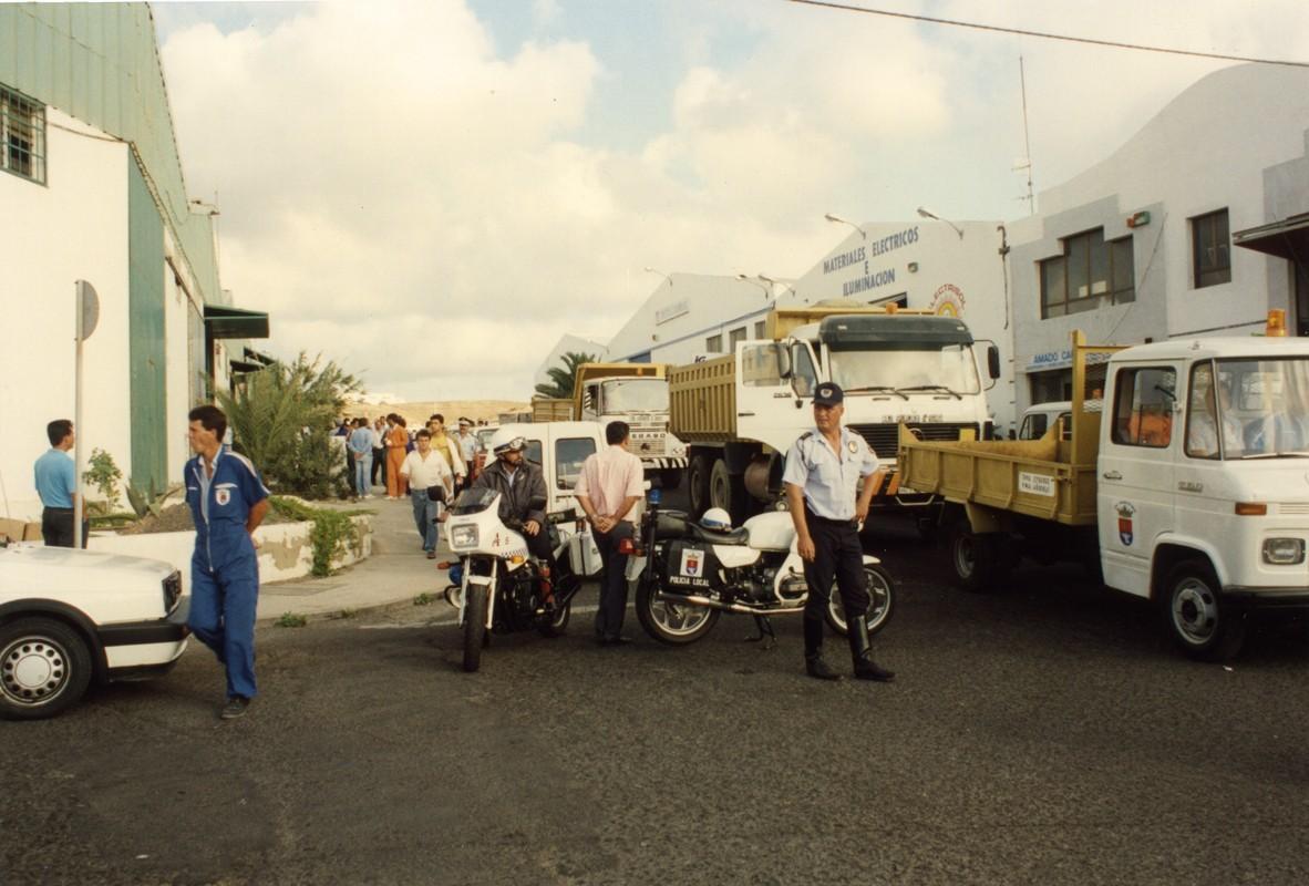 Huelga de basureros en Arrecife II