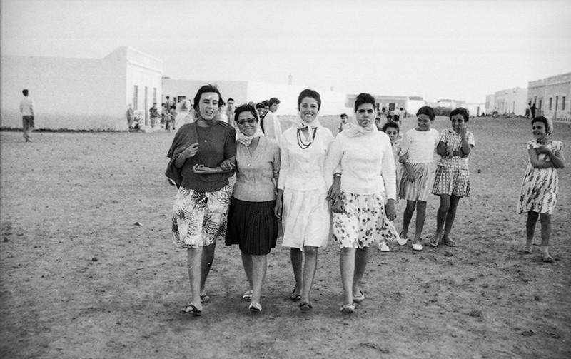 Grupo de mujeres en La Graciosa