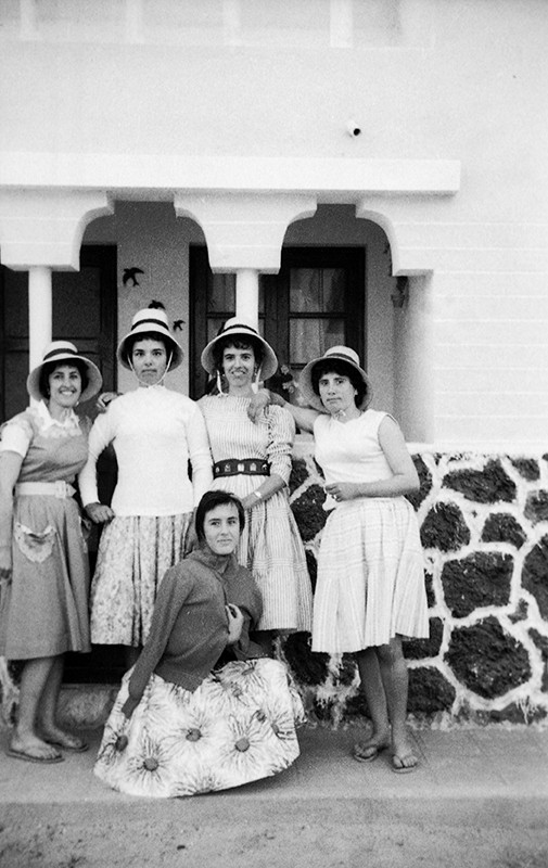 Grupo de mujeres en La Graciosa II