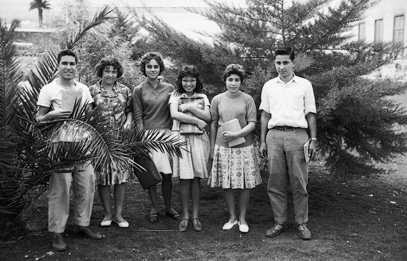Estudiantes en Villa Dolores