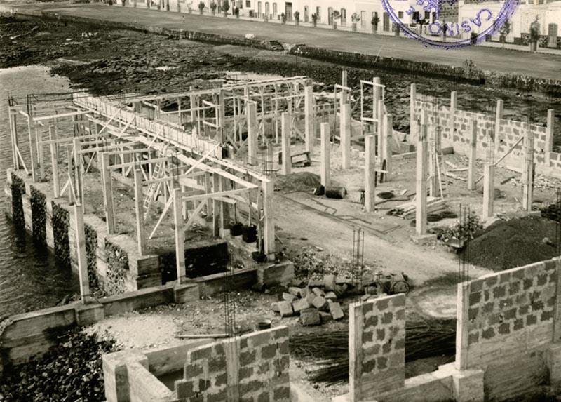 Construcción del Real Club Náutico IV