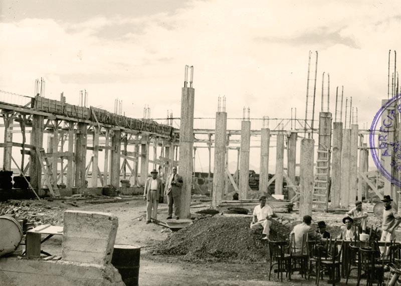 Construcción del Real Club Náutico VI
