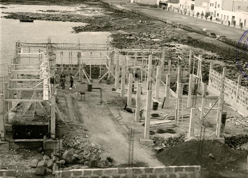 Construcción del Real Club Náutico VII