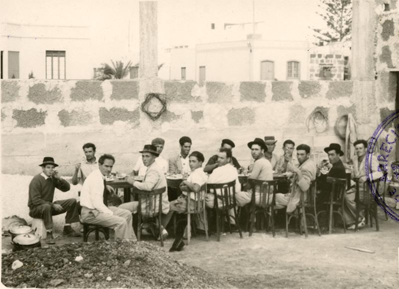 Construcción del Real Club Náutico XII