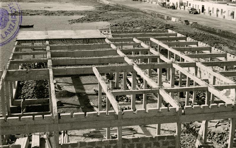 Construcción del Real Club Náutico XV