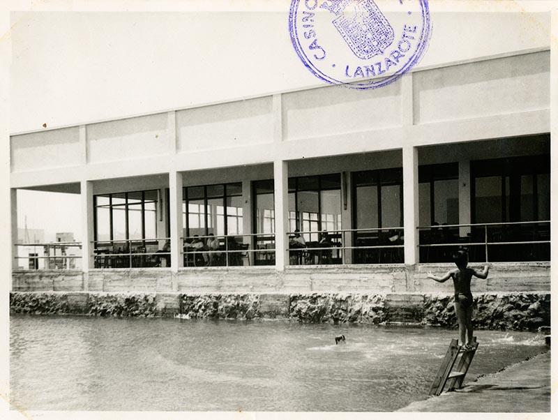 Inauguración de la piscina del Casino Club Náutico II