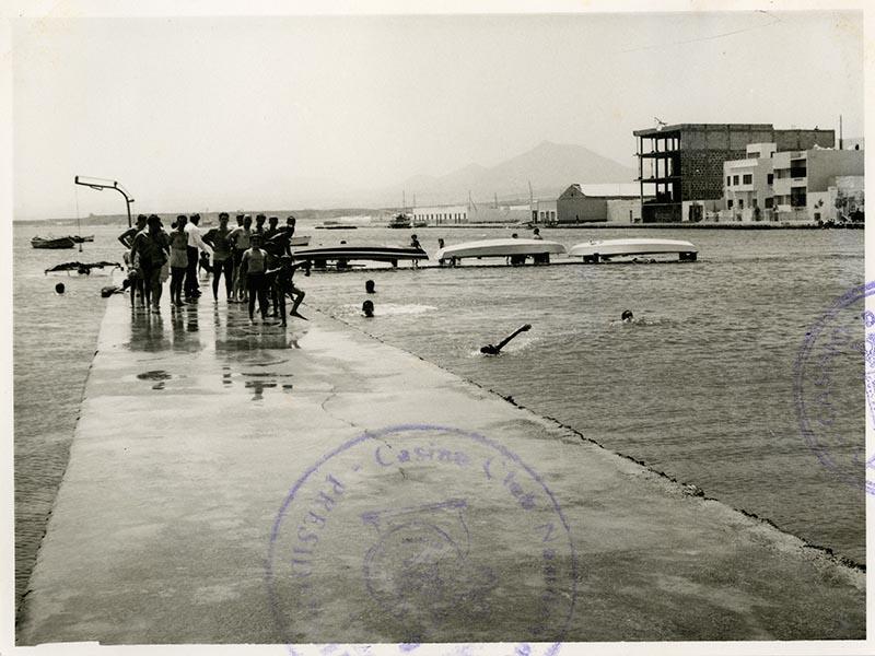 Inauguración de la piscina del Casino Club Náutico V