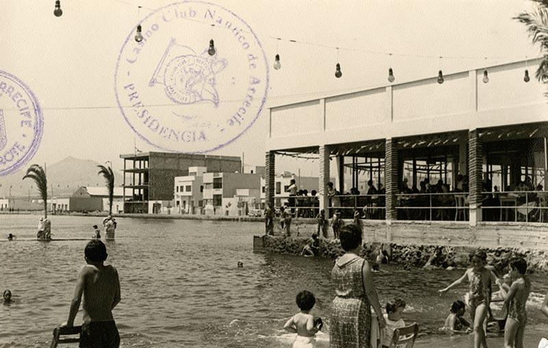 Inauguración de la piscina del Casino Club Náutico IX