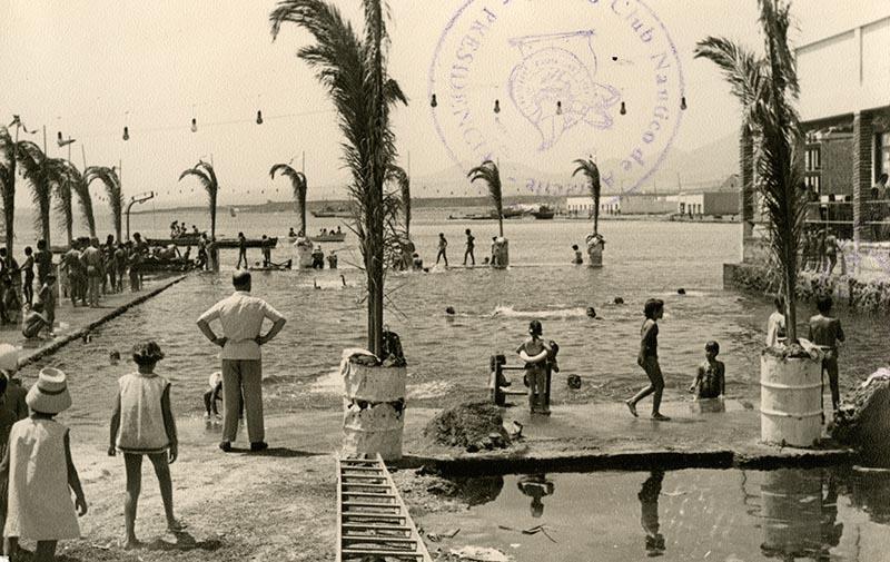 Inauguración de la piscina del Casino Club Náutico XIII