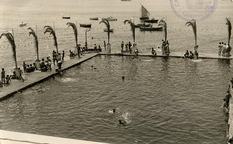 Inauguración de la piscina del Casino Club Náutico XIV