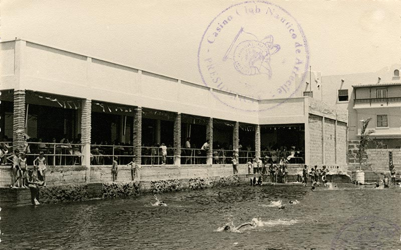 Inauguración de la piscina del Casino Club Náutico XV