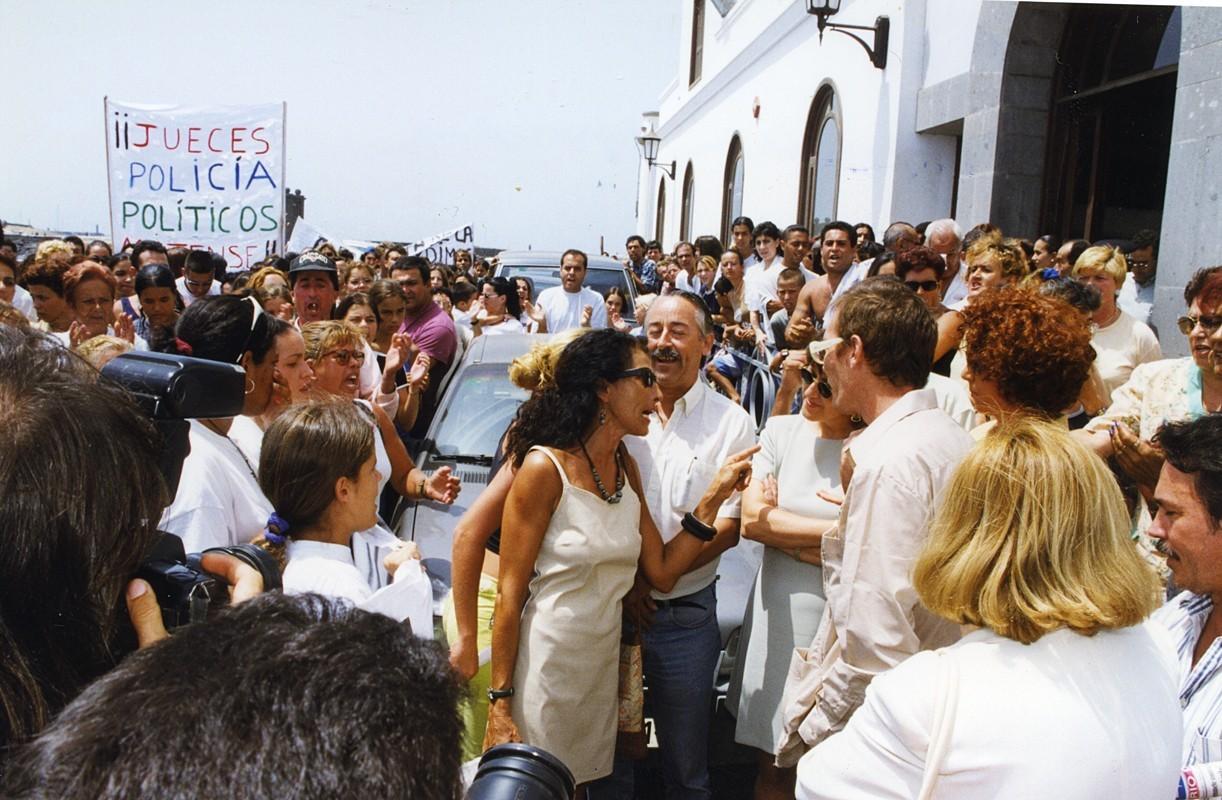 Manifestación por la muerte de Fuencisla IV