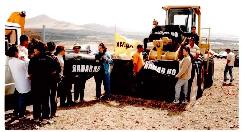 Protestas contra el radar de Montaña Blanca I