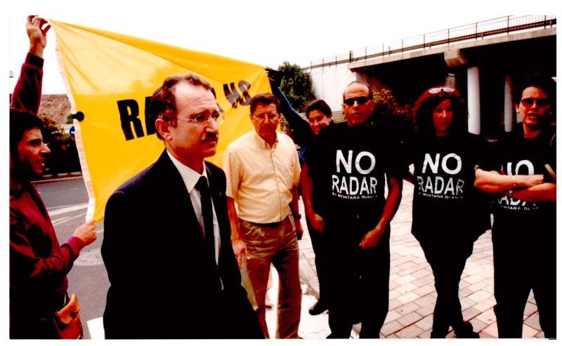 Protestas contra el radar de Montaña Blanca III