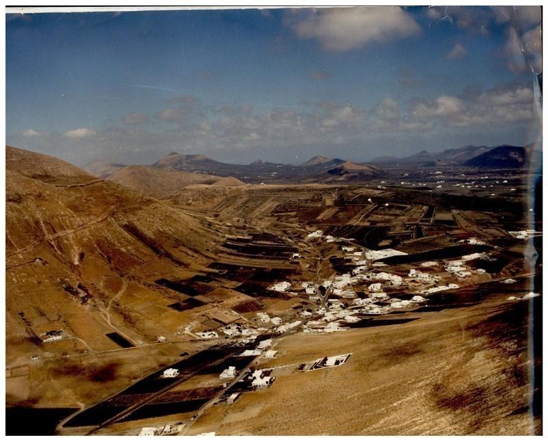 Fotografía aérea de Montaña Blanca