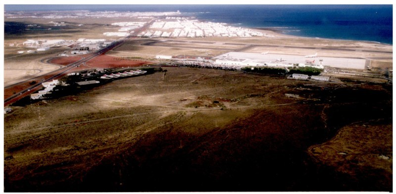 Fotografía aérea de Playa Honda IV