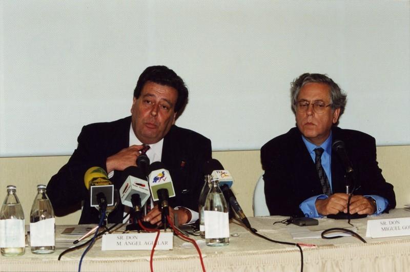 Enrique Pérez y Miguel Ángel Aguilar
