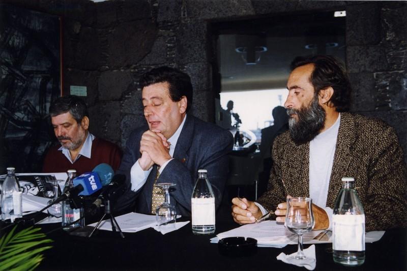 Enrique Pérez, Carmelo García Déniz e Ildefonso Aguilar