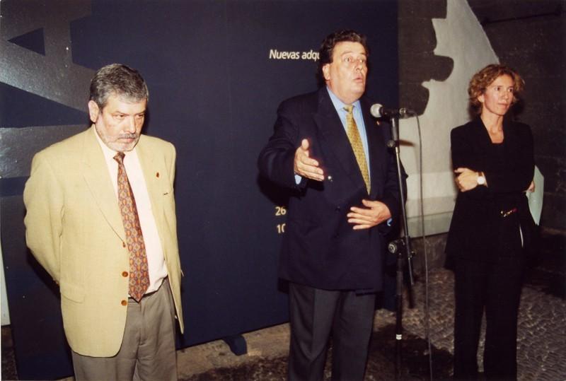 Enrique Pérez, Carmelo García Déniz y María José Alcántara