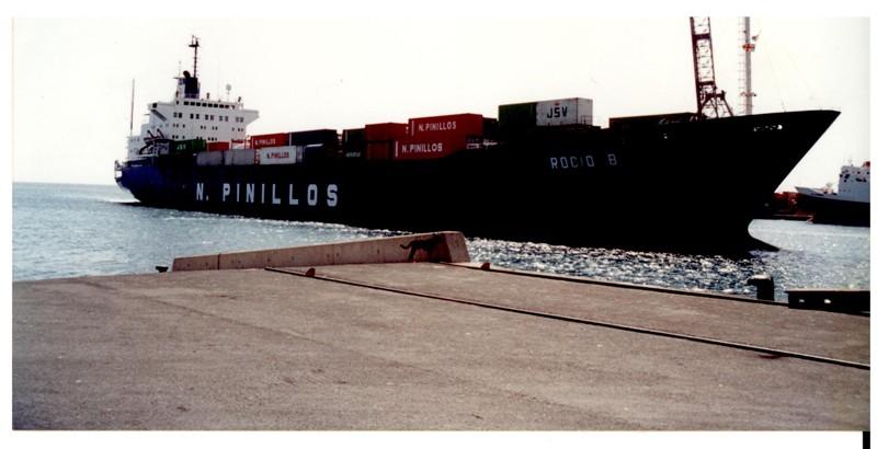 Carguero en el Muelle de los Mármoles I
