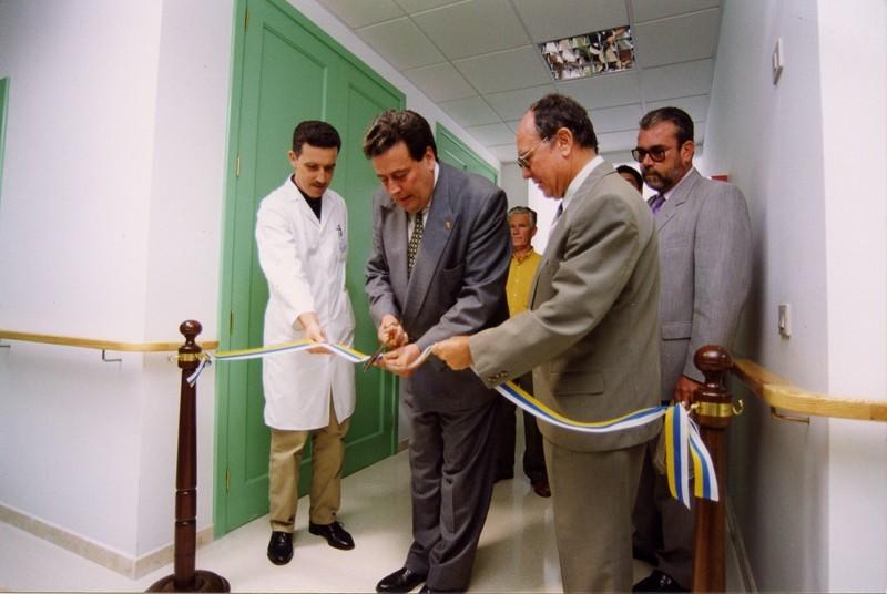 Inauguración instalaciones sanitarias del Hospital Insular
