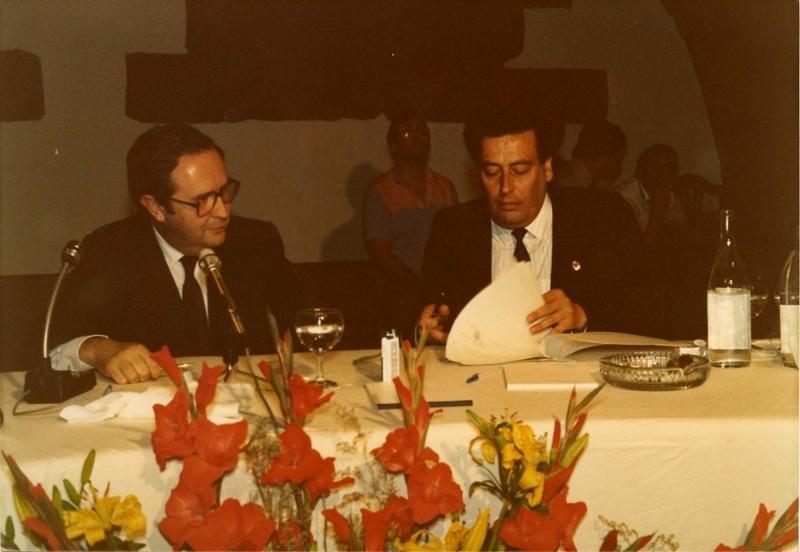 Jerónimo Saavedra y Enrique Pérez Parrilla