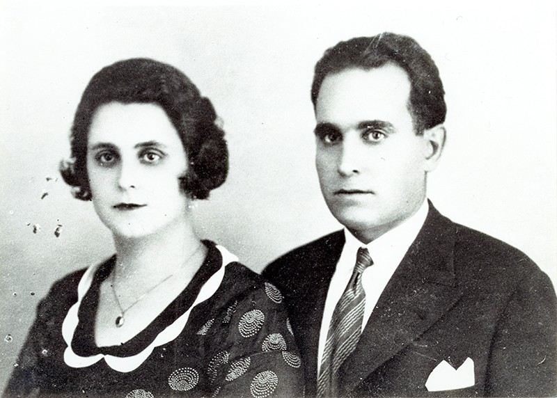 Antonia Reguera y Francisco Sáenz