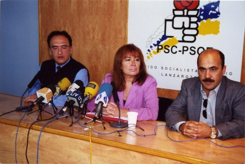 Cristina Narbona en Lanzarote
