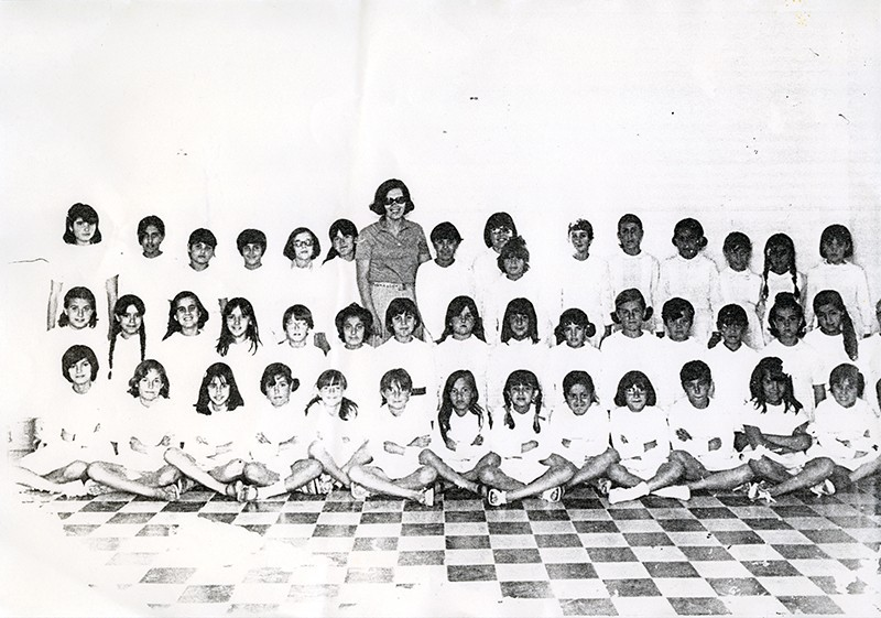 Alumnos del colegio Nieves Toledo
