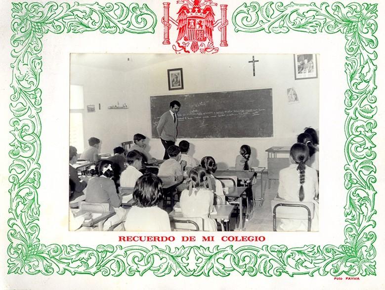 Alumnos del colegio de Tiagua I