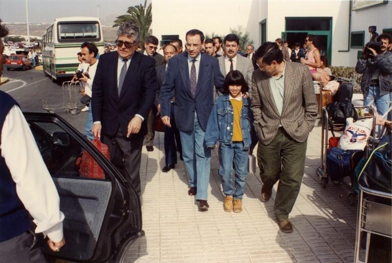 Visita de Alfonso Guerra I