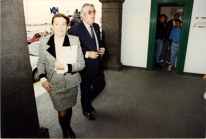 Visita de Cristina Alberdi I