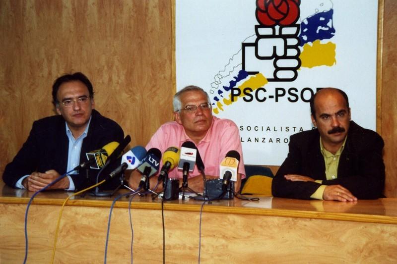 Visita de Josep Borrell II