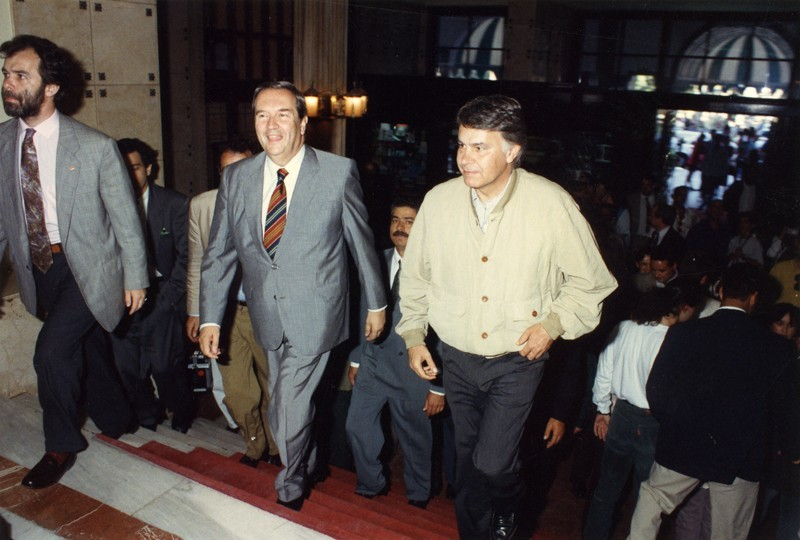 Visita de Felipe González I