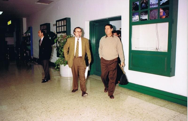Visita de Pedro Solbes I