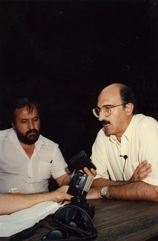 Visita de Julián García Vargas I
