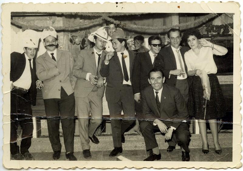 Amigos en el 'Casino Club Náutico'