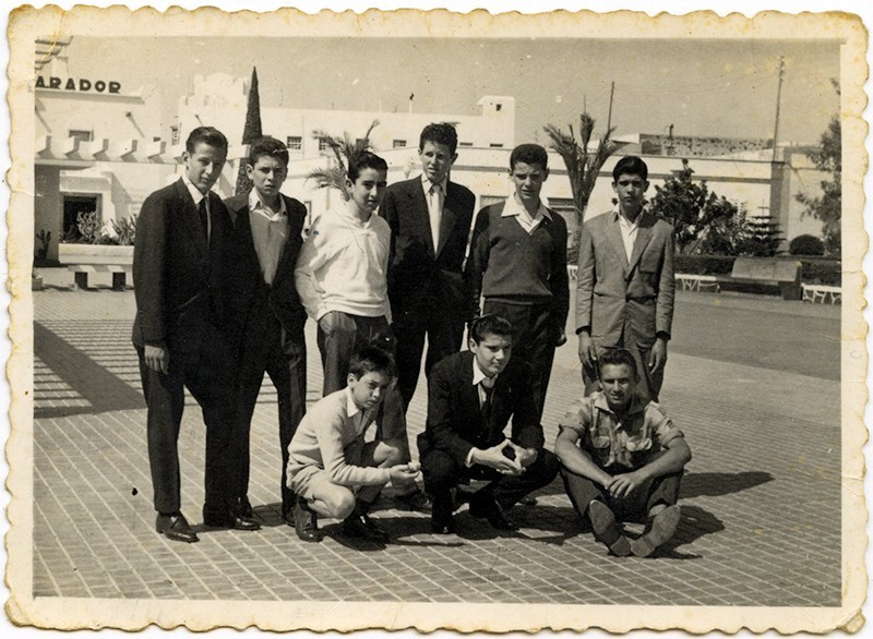 Amigos en el parque Ramírez Cerdá II