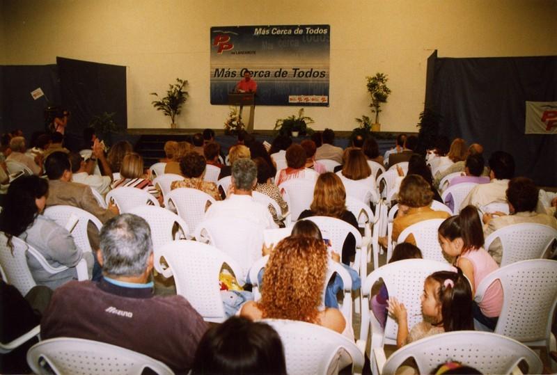 Inauguración en Playa Honda III