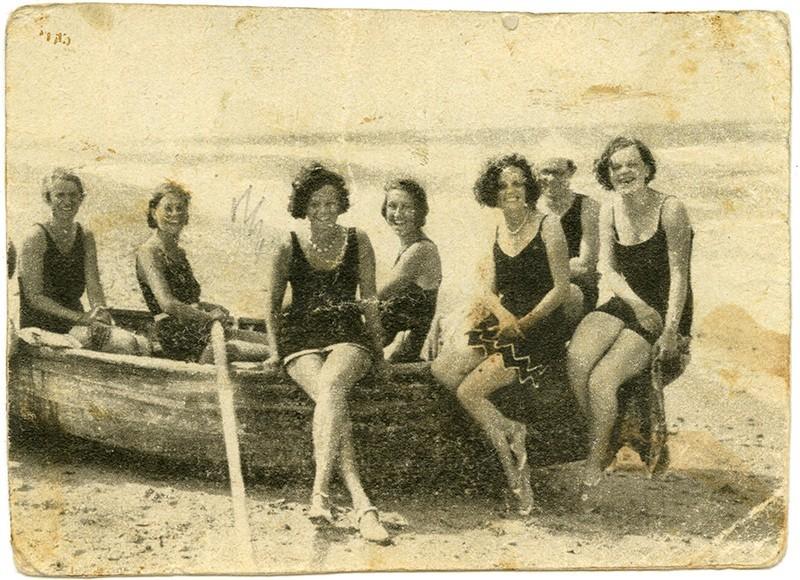 Señoritas en el barco