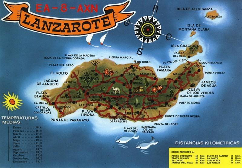 Postal de Lanzarote