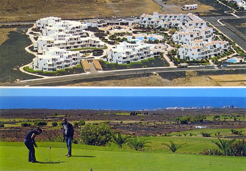 Apartamentos y campo de golf