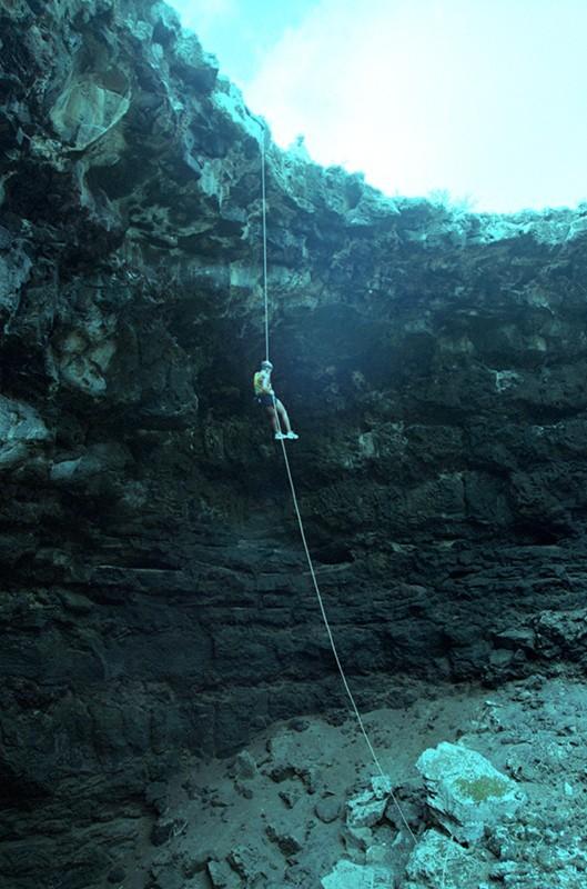 Escalada en la Cueva de las Palomas II